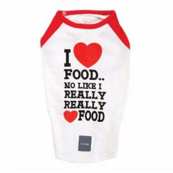 I LOVE FOOD T-shirt majica
